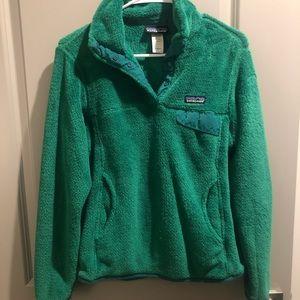 Patagonia Green Fuzzy Fleece - Size S